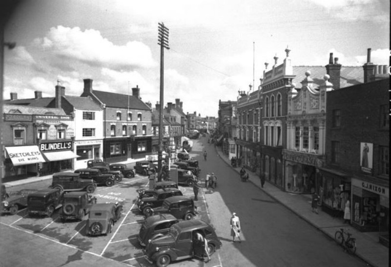 Views of Hall Place, Spalding