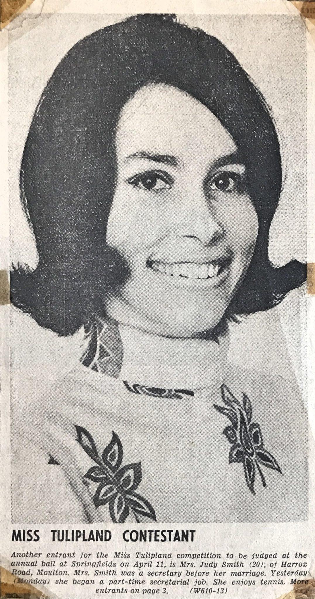 1969 Judith Smith Miss Tulipland Scrapbook