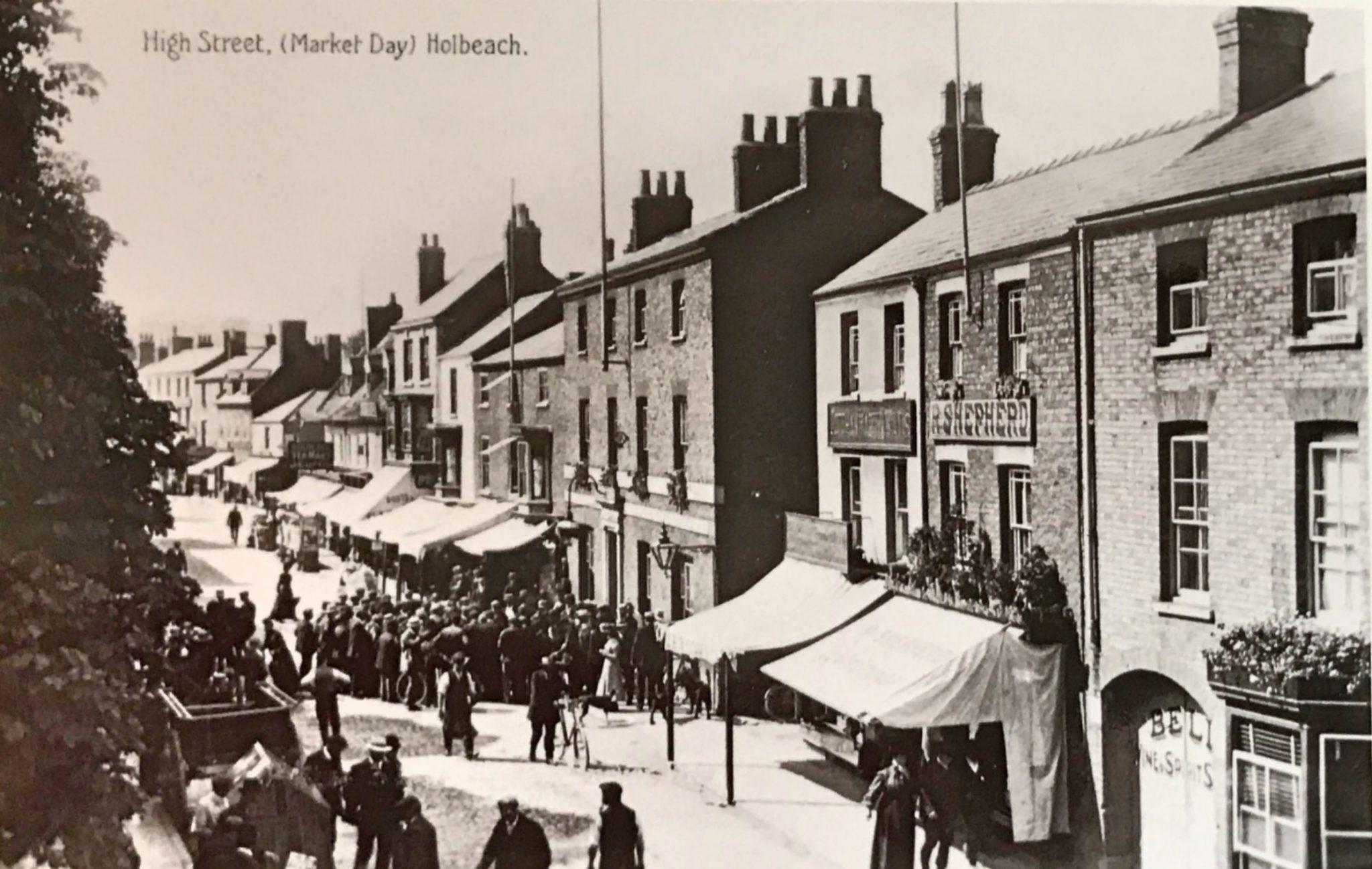 High St. on Market Day, Holbeach