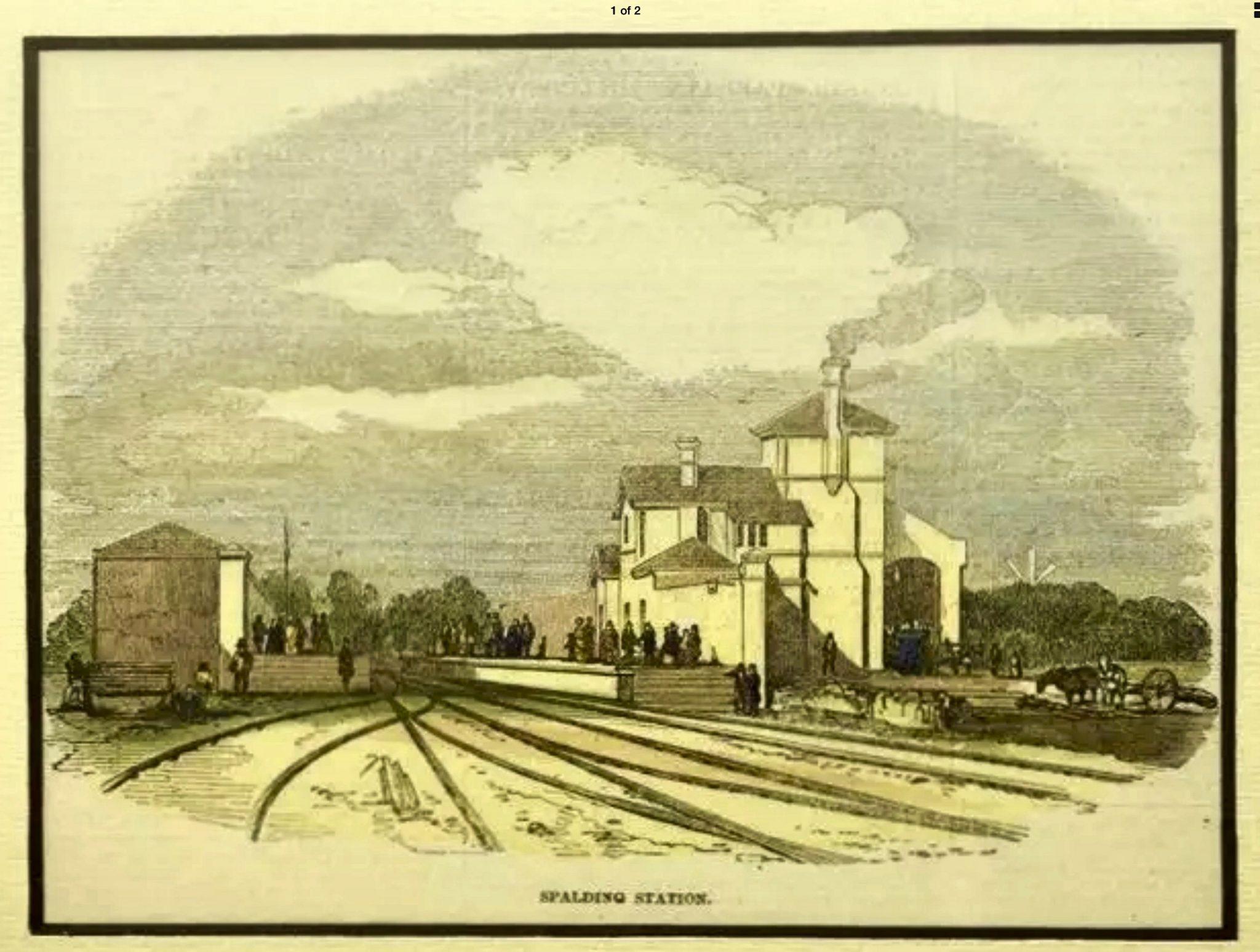 Spalding Railway Station