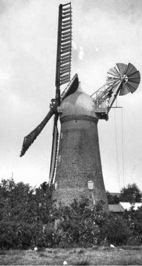 Newborn's Mill, Cowbit 30th June 1923
