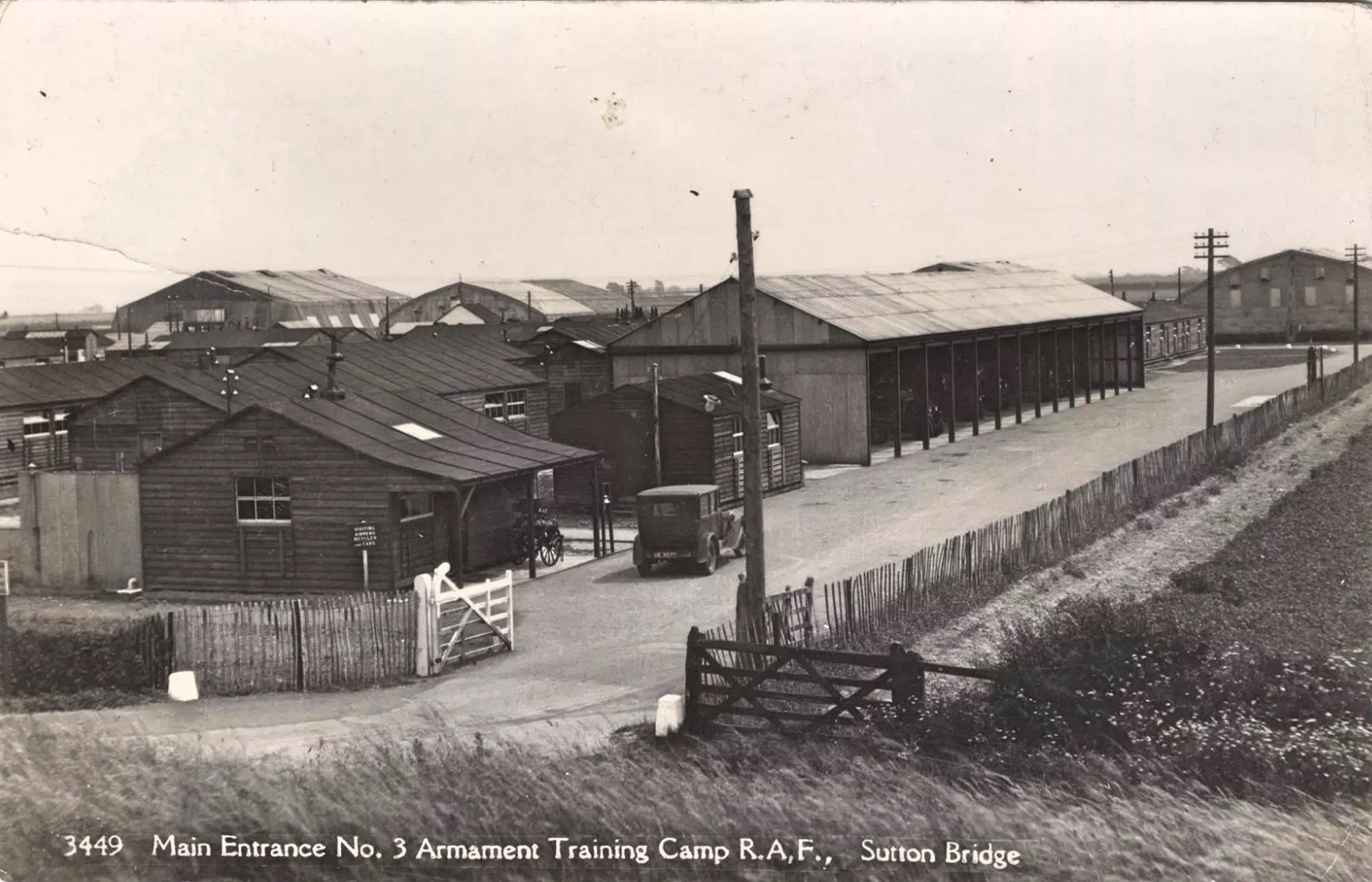 Main Entrance Armament Training Camp Sutton Bridge