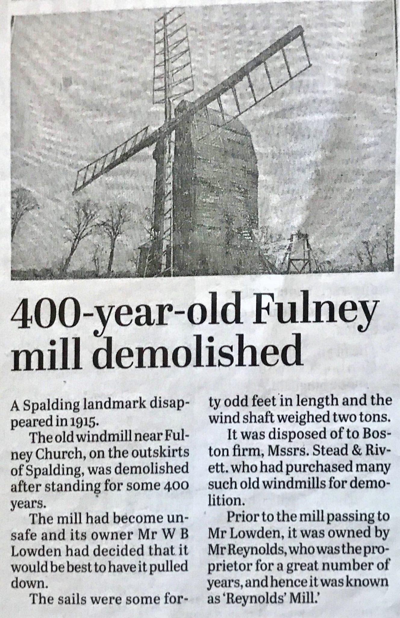 Fulney Mill