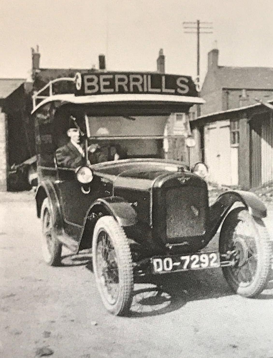 Berrills Delivery Van