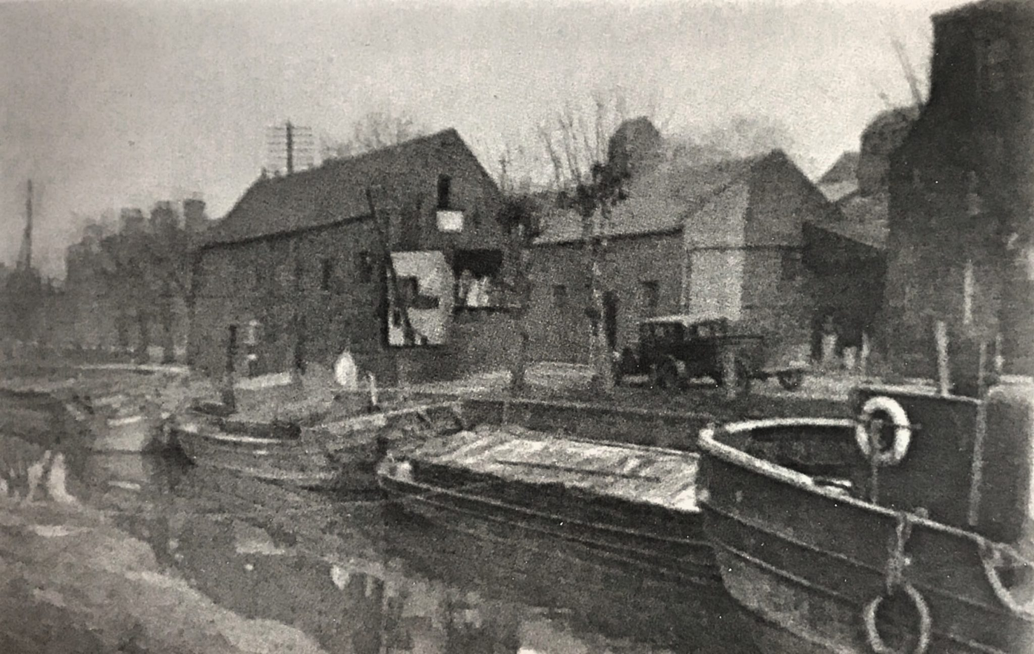 Birch's Wharf early 1900's
