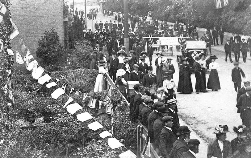 Coronation of King George V at Sutton Bridge 1911