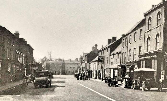 Market Place Long Sutton 1920