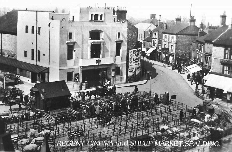 Regent Cinema and Sheep Market