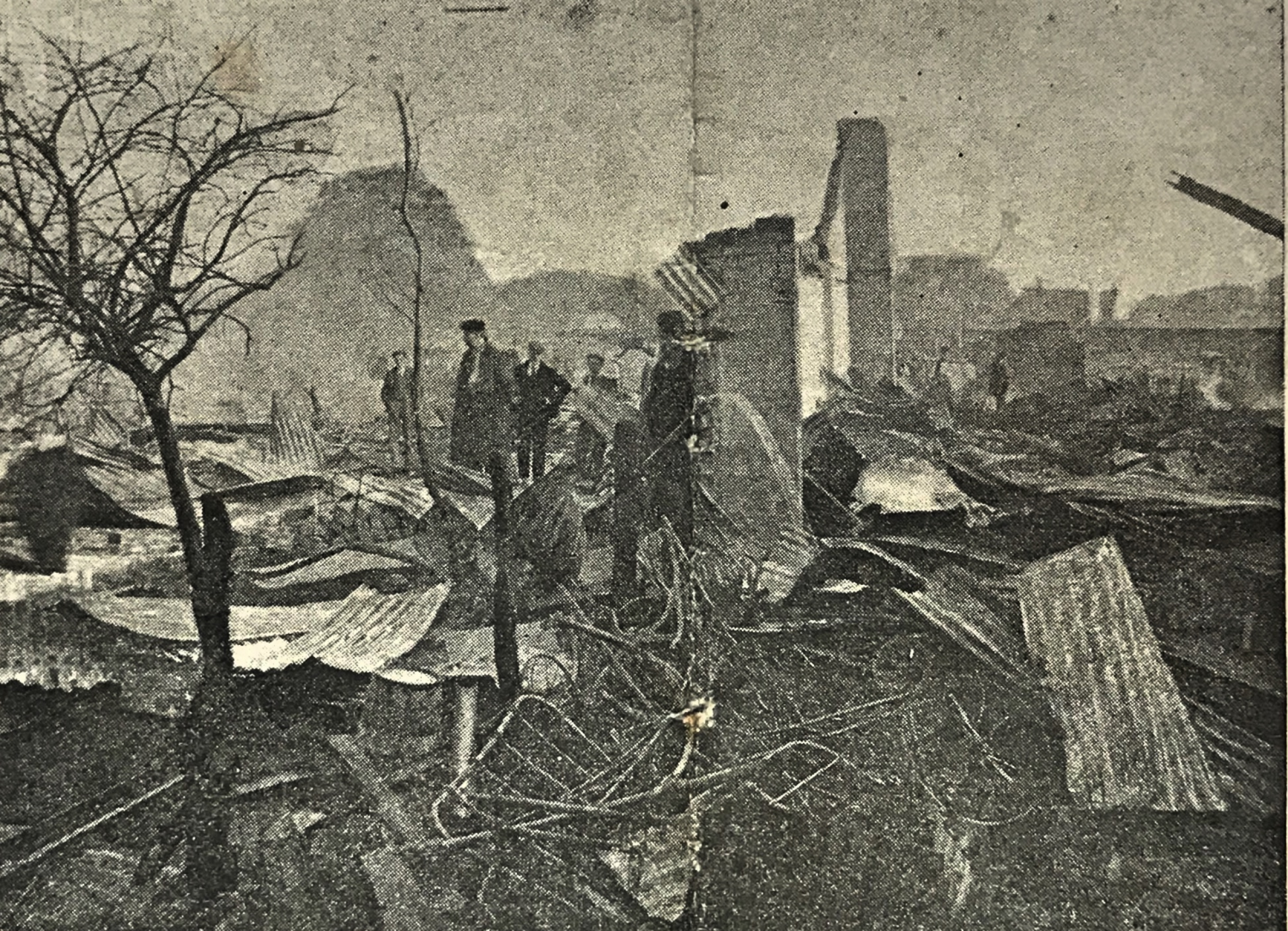 Major Fire in Spalding July 1900