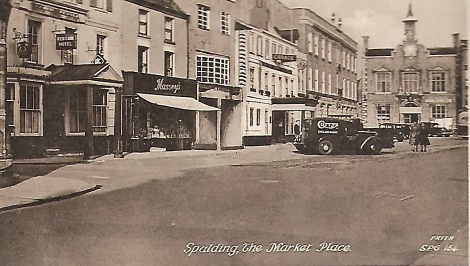 Postcard views of Spalding