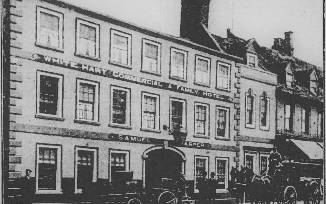 White Hart in Spalding Market Place – 1911
