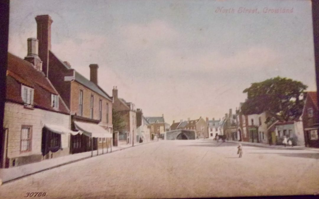 Views of Crowland early 1900's