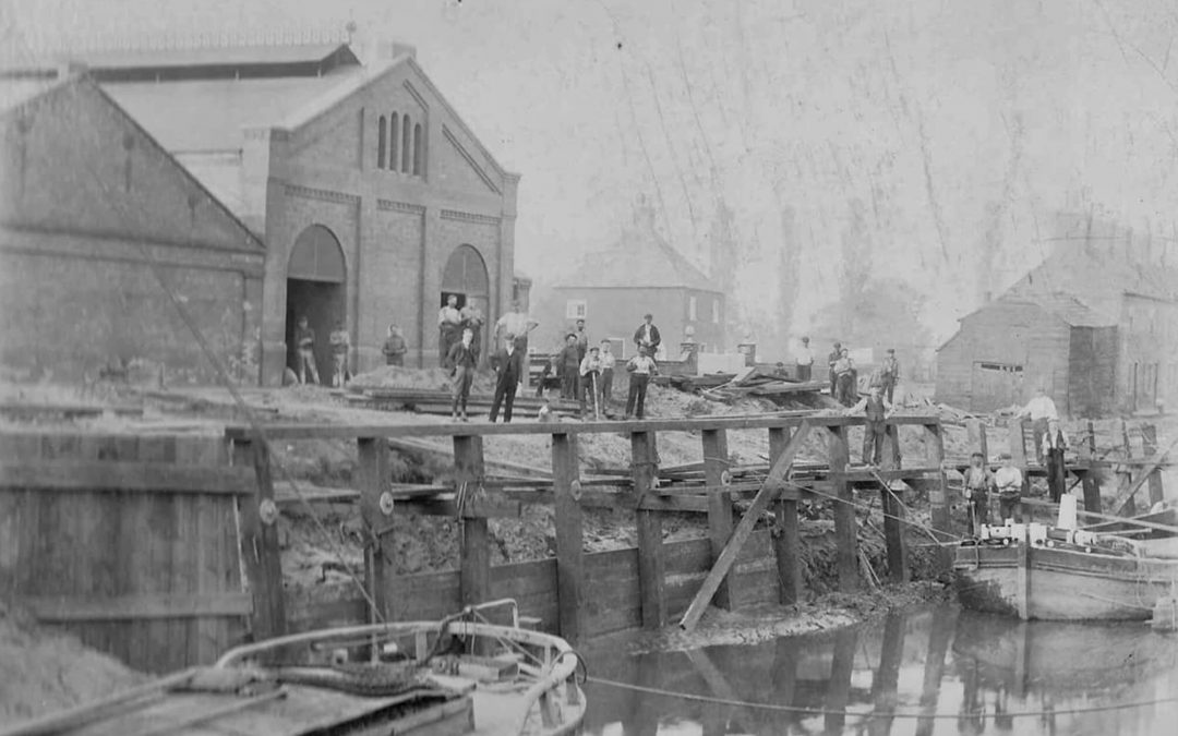 Then and Now – Gasworks Wharf