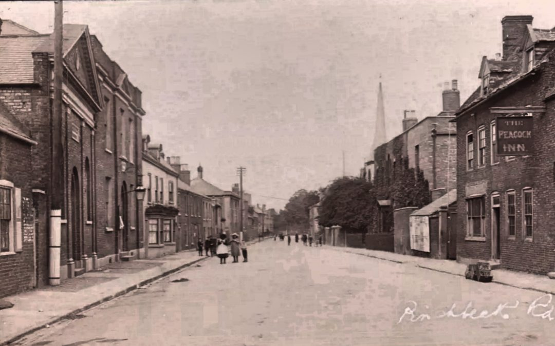 Then and Now – Top of Pinchbeck Rd.
