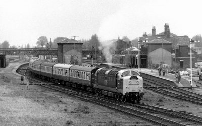 Spalding Station in the 1980's