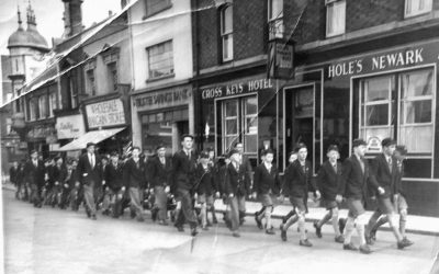 Spalding Grammar School Charter Day Parade 56/57