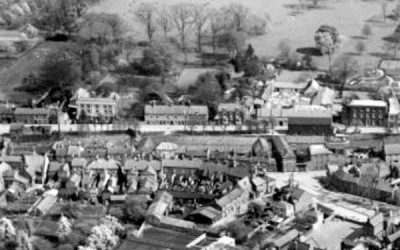 Aerial Photo of High St Spalding