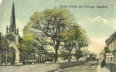 Church St, Vicarage and Parish Church Spalding
