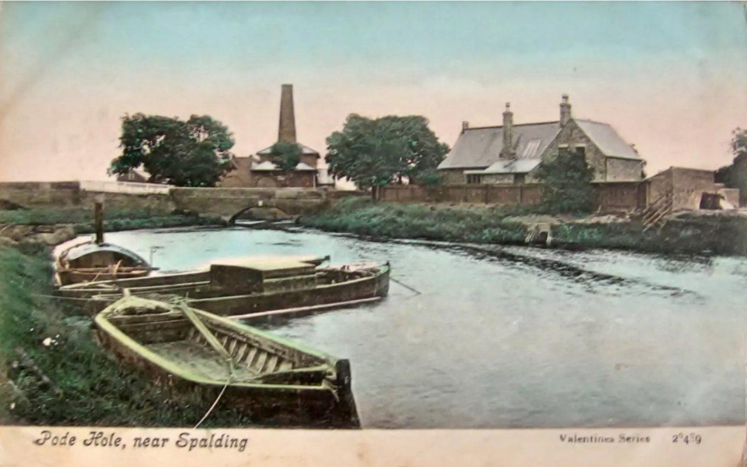 Pode Hole near Spalding, 1907