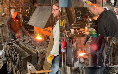 Knife Making at the Forge