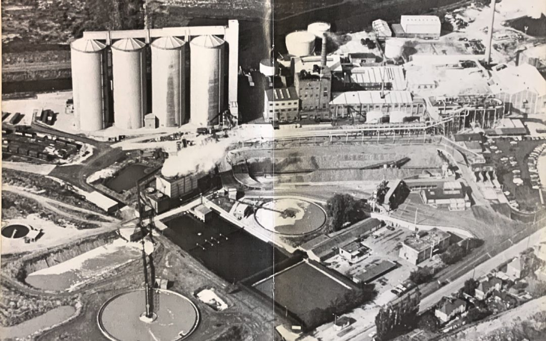 British Sugar Aerial View