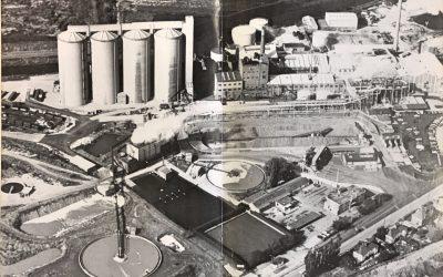 British Sugar Aerial View