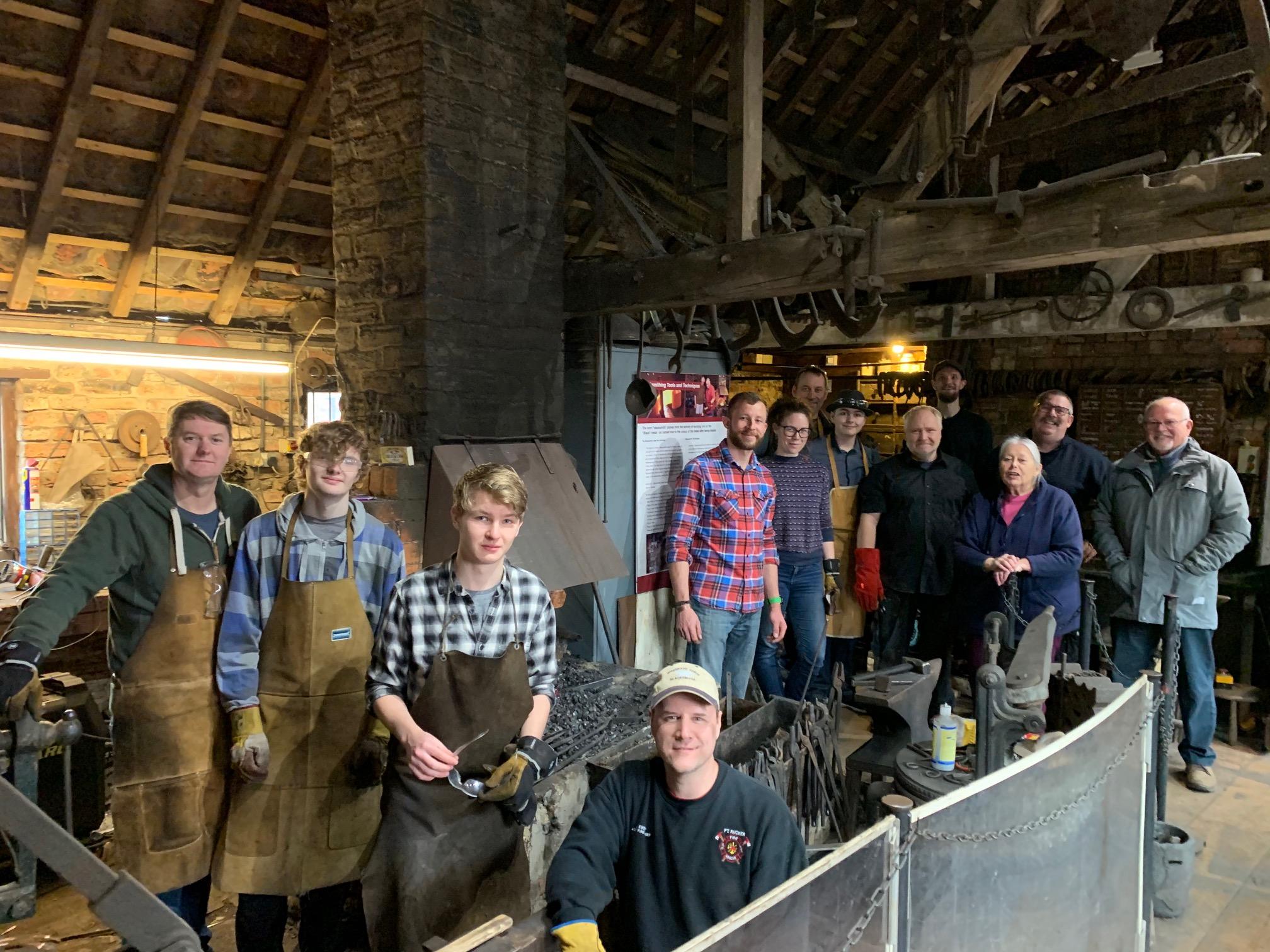 blacksmithing club