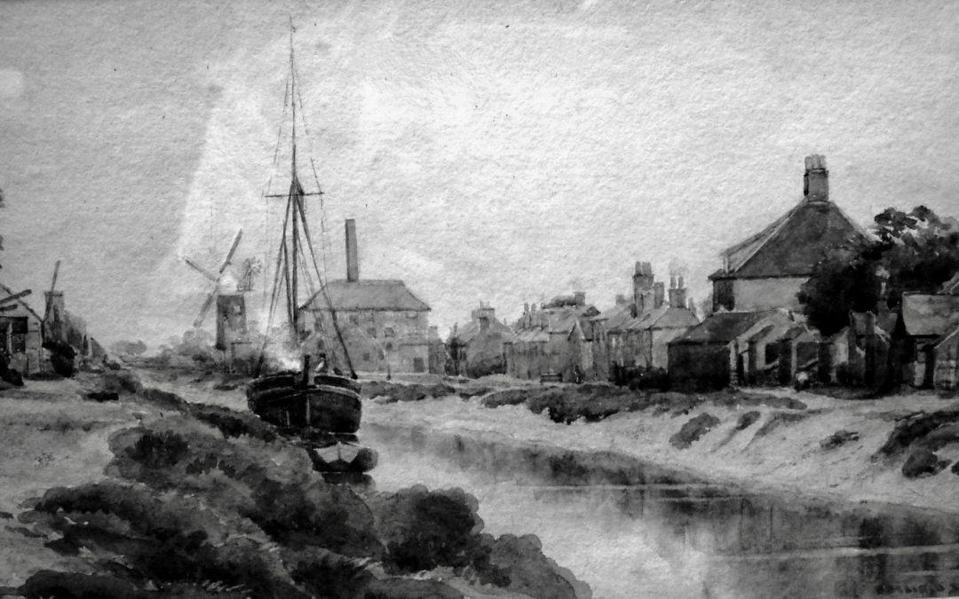 River Welland & Hunt & Jennings Steam Bone Mill