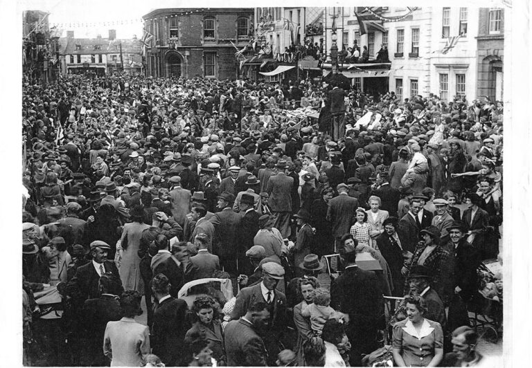 VE Day in the Market Place